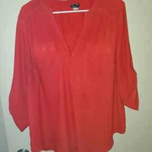 Red Torrid Blouse